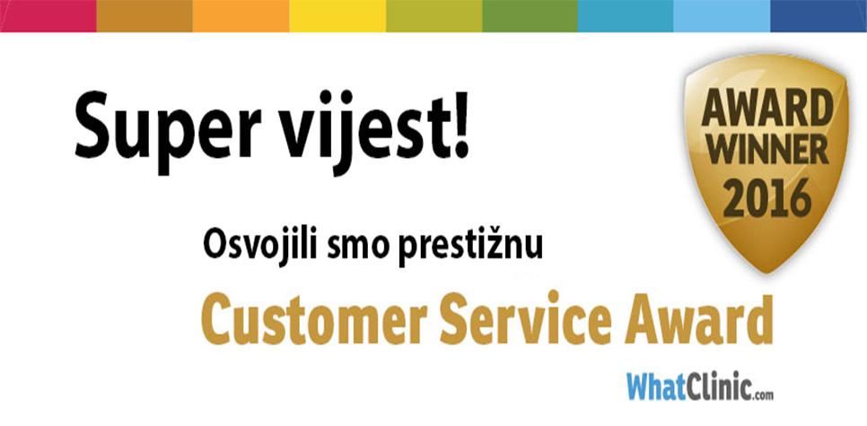 Dental Care Croatia nagrađena za izvrsnost usluge pacijentima