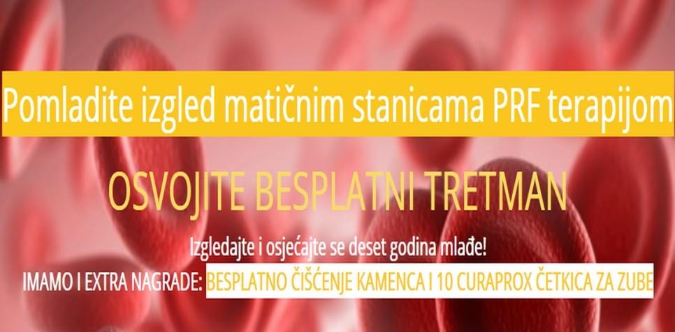 Pomlađivanje matičnim stanicama PRF metoda
