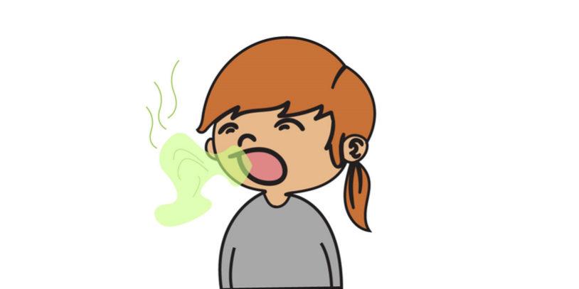 terrible bad breath
